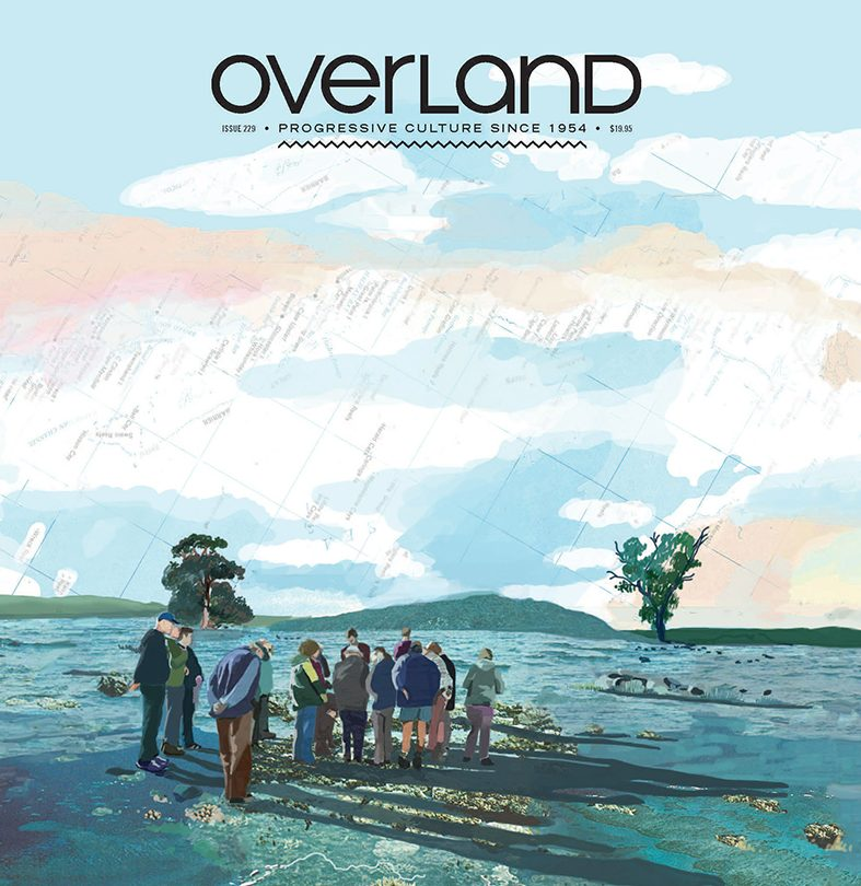 Overland Literary Journal Issue 229 cover